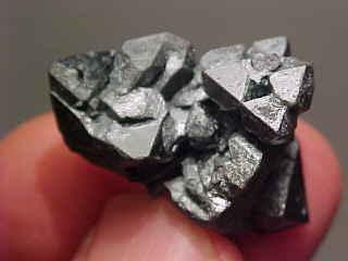 Hematite Pseudo After Magnetite (3cm) - Argentina